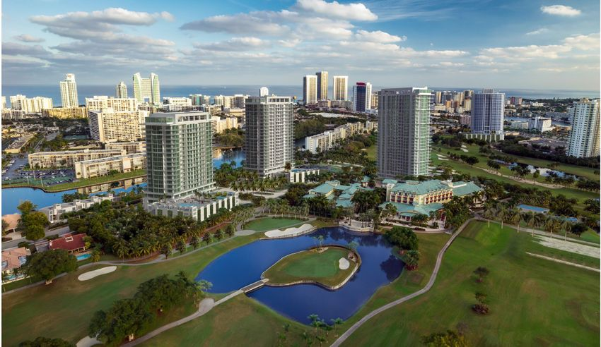 Diplomat Golf Hallandale Beach